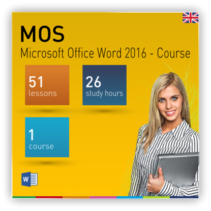 MOS: Microsoft Office Word 2016 - Course