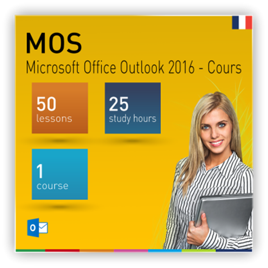 MOS : Microsoft Office Outlook 2016 - Cours