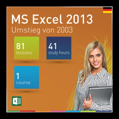MS Excel 2013: Umstieg von 2003